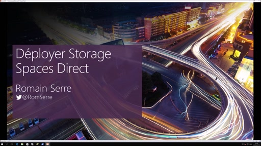 Déployer un Storage Spaces Direct