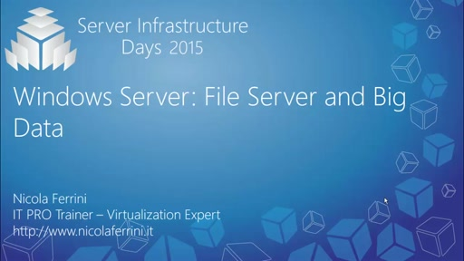 Windows Server: File Server and Big Data - WS02