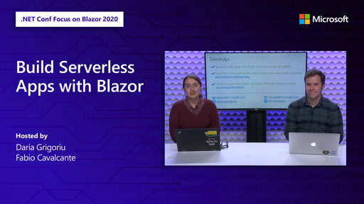Build Serverless Apps with Blazor