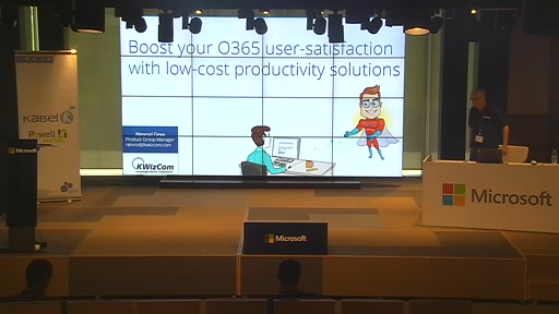 Auditorio - Boost your O365 user-satisfaction with low-cost productivity solutions