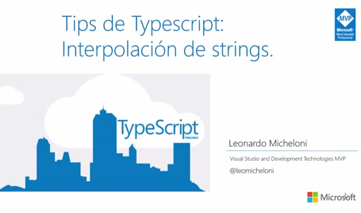Tips de Typescript: Interpolación de strings