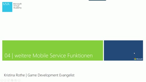 04 | Weitere Mobile Services Funktionen