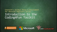 Part 17: Introducing the Coding4Fun Toolkit