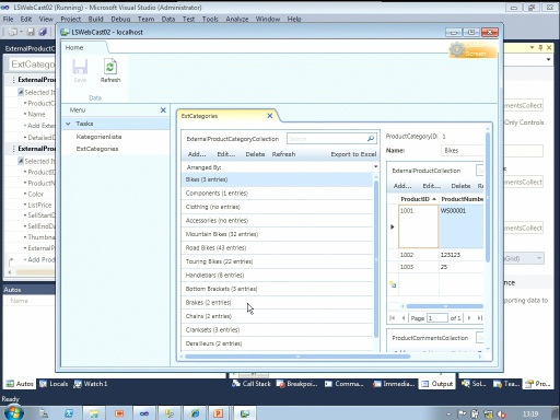 KAT-TV: Visual Studio LightSwitch Teil 2