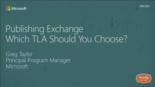 Publishing Exchange - Which TLA Should You Choose?