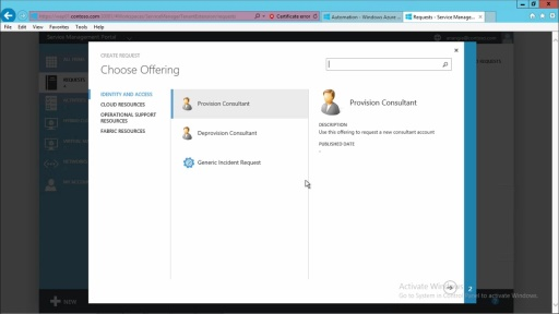 Windows Azure Pack - Infrastructure as a Service: (06) Extend Services with Third Parties