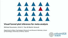 Visual funnel plot inference for meta-analysis