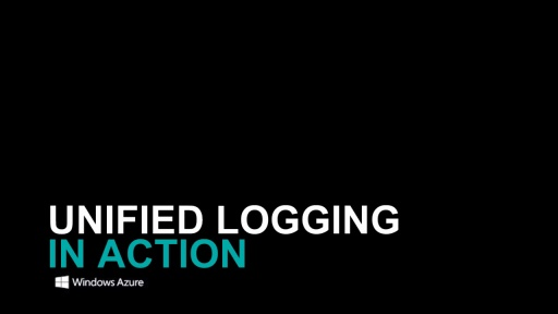 Unified Logging (TM) : collect data, analyze trends and create alerts in the cloud, powered by Windows Azure