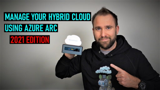 Manage your hybrid cloud environment using Azure Arc