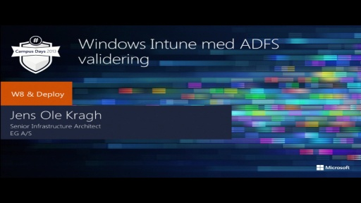 Mobile Device Management med Windows Intune og ADFS validering