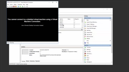 Shielded Virtual Machines in Windows Server 2016