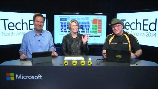 TechEd Countdown Show: The One with the Tech Expo