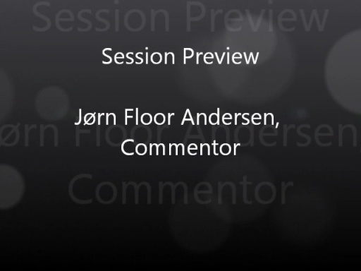 Jørn Floor Andersen, Danish Developer Conference