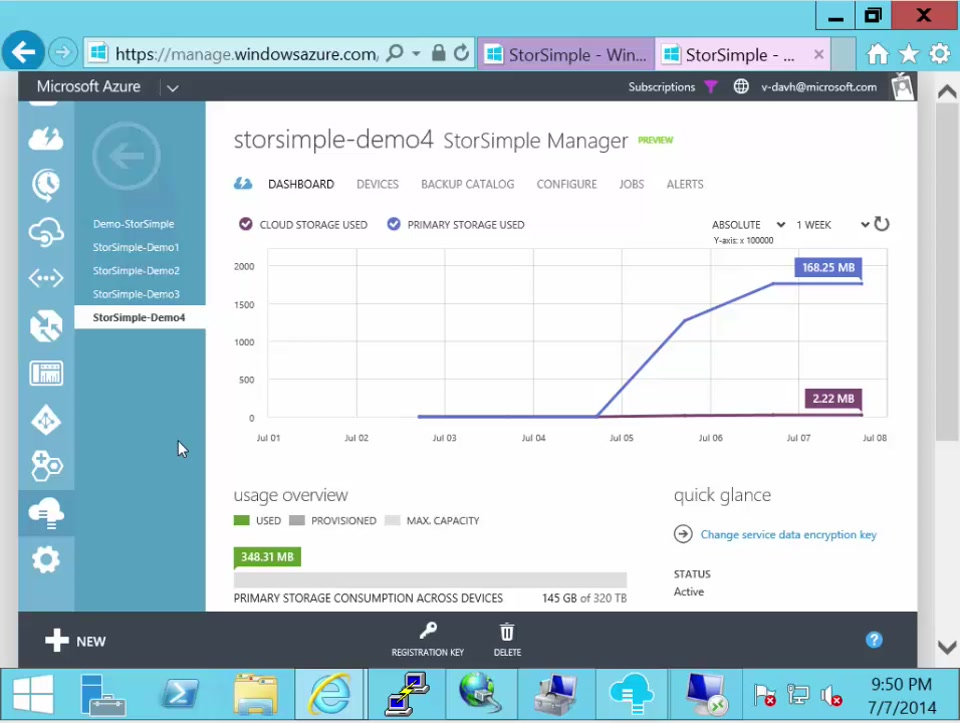StorSimple and disaster recovery