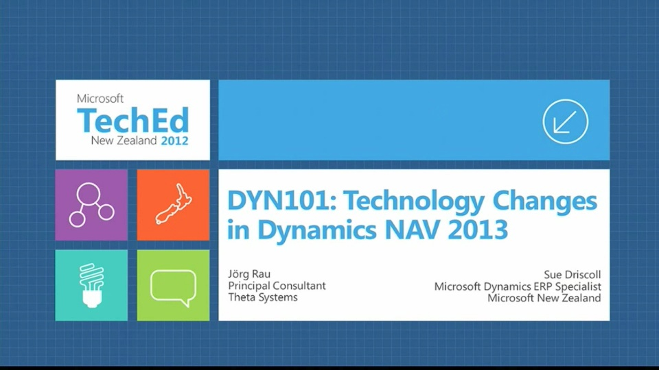 Technology Changes in Microsoft Dynamics NAV 2013