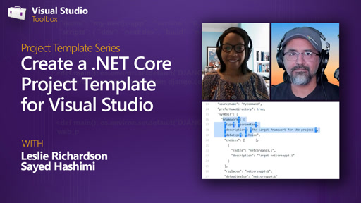 Create a .NET Core Project Template for Visual Studio