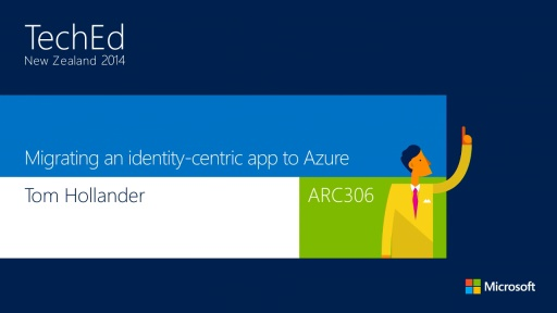 Migrating an identity-centric app to Azure