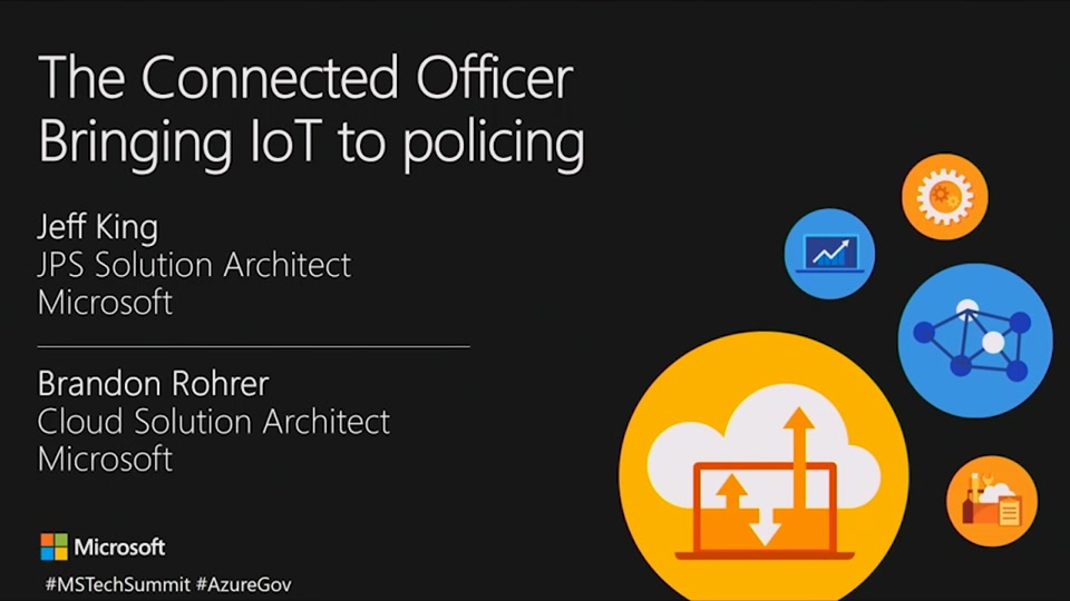 The Connected Officer - Bringing IoT to Policing