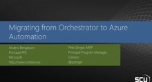 Migrating from Orchestrator to Azure Automation