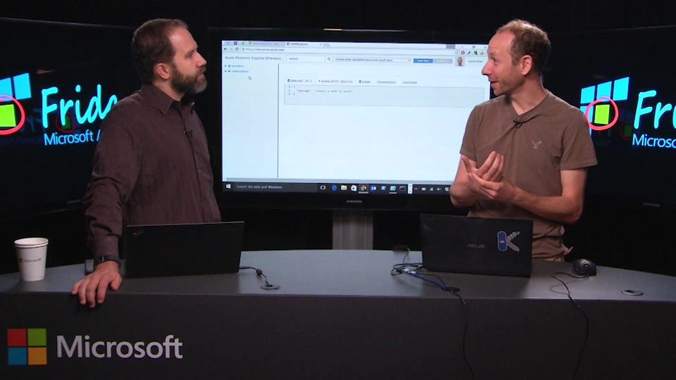 Azure Resource Manager Explorer with David Ebbo