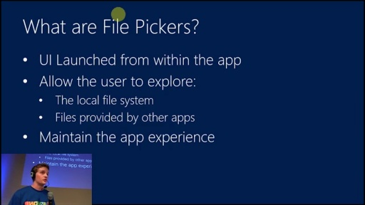 File Pickers
