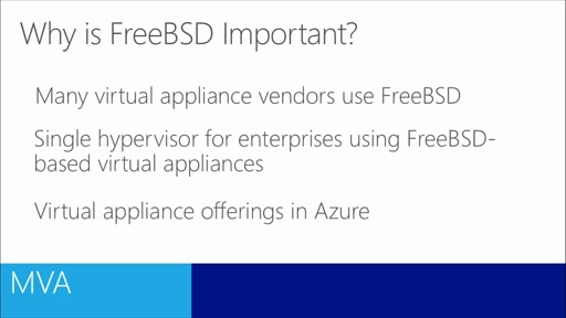 Virtualizing Linux Workloads in Windows Server 2012 R2: (03) FreeBSD Integration Services
