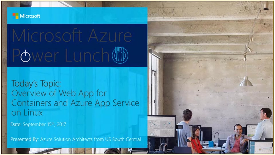 Overview of Web App for Containers and Azure App Service on Linux