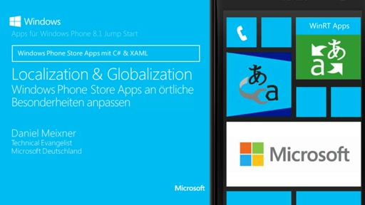 05 | Localization und Globalization in Windows XAML Apps