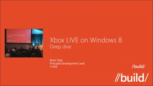 Xbox Live on Windows 8 Deep Dive