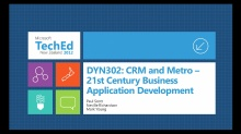 Microsoft Dynamics CRM and Metro - 21st Century Business App Development