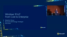 Windows 10 IoT – From Core to Enterprise