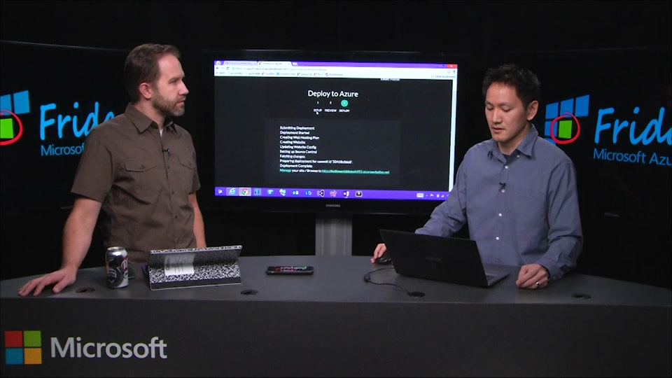 """Azure Websites and the """"Deploy Button"""" with Elliot Hamai"""