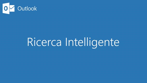 Outlook || Ricerca intelligente