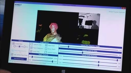 3D Printing Essentials: (08) 3D Model Scanning with Kinect Fusion