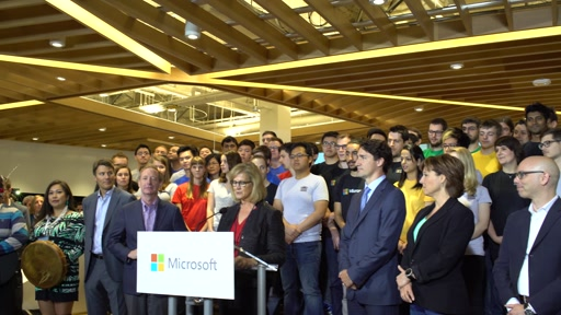 Microsoft Canada Excellence Centre Grand Opening Keynote