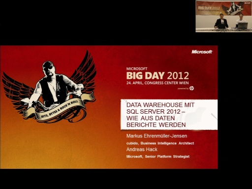 BigDay 2012 - Datawarehousing mit SQL Server 2012