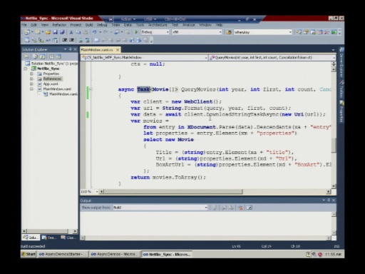 Israeli MSDN Session: Asynchronous Programming with C# v.Next 29.03.2011 Part 2