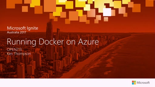 Running Docker on Azure