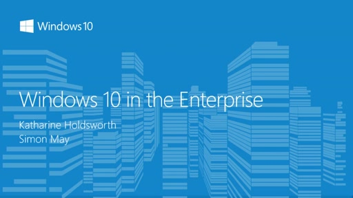 Windows 10 in the Enterprise