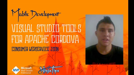 #34 NinjaTips | Visual Studio Tools for Apache Cordova | Consumir Webservice JSON