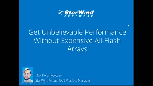Get high-performance storage without using expensive all-flash arrays