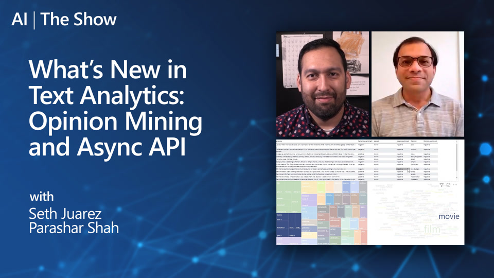 What's New in Text Analytics: Opinion Mining and Async API