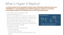 Windows Server 2012: Hyper-V Replica
