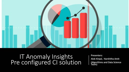 IT Anomaly Insights:  Operational Insights Over Telemetry Data