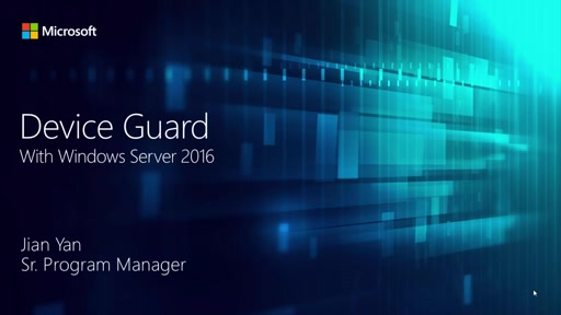 Device Guard in Windows Server 2016