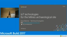 IoT technologies for the Mitreo archaeological site