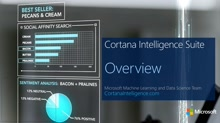 Cortana Intelligence Suite Overview