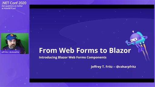 From Web Forms to Blazor - Introducing the Blazor Web Forms Components