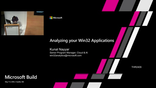 Analyzing your Win32 applications