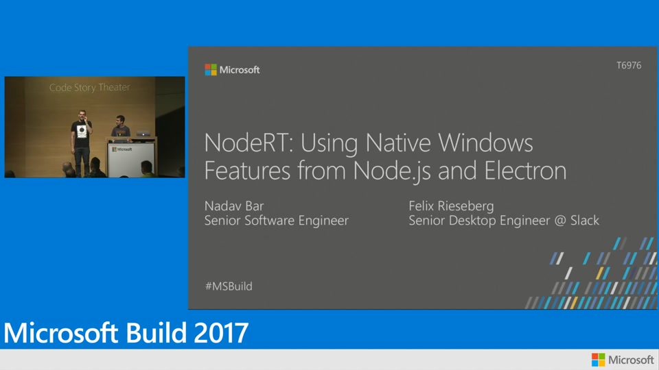 NodeRT: Using native Windows features from Node.js and Electron